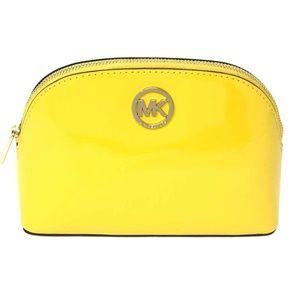 Michael Kors Fulton Large Travel Pouch Yellow